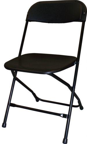 Where to find CHAIR, FOLDING METAL Black in Monroe