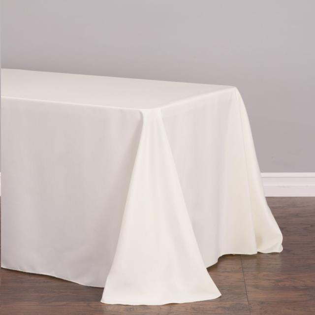 Where to find TABLECLOTH, 90 X132  WHITE in Monroe