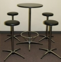 Rental store for BAR STOOL,  BLACK in Monroe WA
